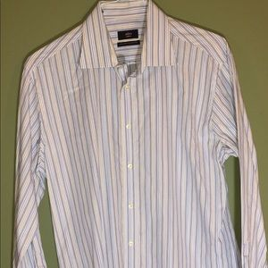 Alara Large Men's all-cotton shirt, Italian-made
